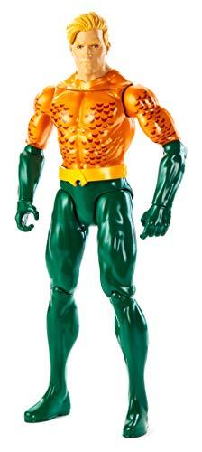 Justice League- Aquaman Personaggio Articolato 30 cm, Multicolore, GDT52