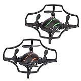 F19 4CH 2.4G Mini Drone, 0.3MP Drone, 720 * 576 RC Drone Quadcopter, la modalità ad alta velocità è adatta per le giornate ventose, la bassa velocità è adatta per il gioco al coperto.(verde)