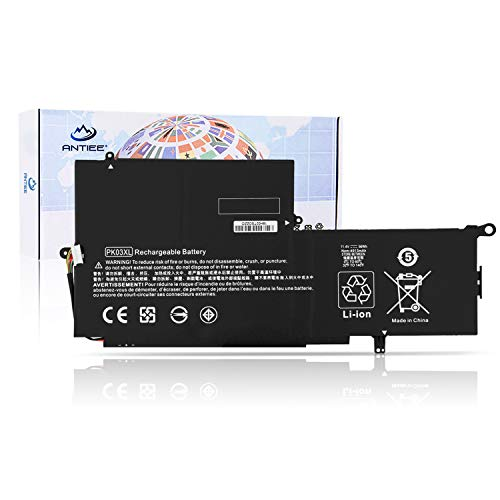 ANTIEE 56Wh PK03XL Laptop Battery for HP Spectre 13 Pro X360 G1 G2 13-4000 13-4100 13-4200 13-4000nf 13-4003dx 4005dx 4006tu 4103dx 4020ca 4105dx 4101dx 4002dx HSTNN-DB6S 789116-005 788237-2C1