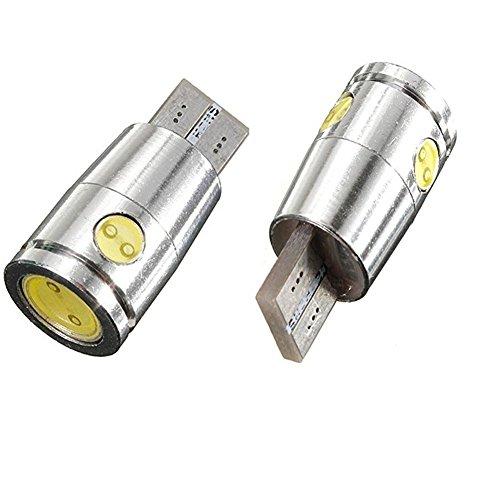 KaTur 2 x Erreur CANBUS Gratuit T10 W5 W Cree LED SMD Blanc Car Auto Reverse Intérieur Lumières Ampoule Lampe
