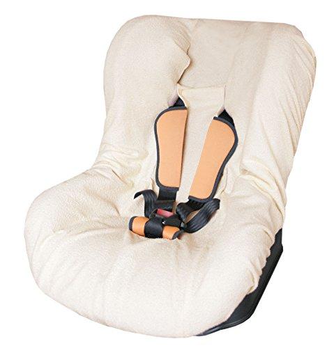 Tineo badstof hoes voor baby-autostoel Badstof beige
