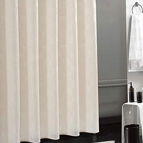 Vorhang Anti Schimmel Mehltau beständig Beige Dusche Vorhang Liner Polyester Badezimmerzubehör