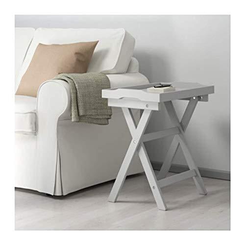 Ikea Maryd 902.927.25 Tabletttisch, Grau, 57 x 38 x 56 cm