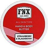 FNX Hand & Body Butter - Hand und Körpercreme mit Erdbeere und Brombeere Duft 175 ml