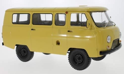 Unbekannt UAZ 452V Minibus (2206), Dunkelbeige, 0, Modellauto, Fertigmodell, Premium ClassiXXs 1:18