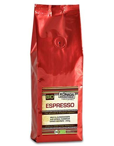 Fairtrade Kaffee, Espresso mild, BIO, ausgewogen, ganze Bohne, 100% Arabica, schonende Langzeitröstung, 500g - Bremer Gewürzhandel