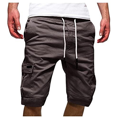 Shorts Men Summer Vintage Cargo Short Pants Cotton Shorts Summer Men Shorts Sports Pants for Leisure Sport Jogging Ripstop Shorts, Sweatshorts Shorts Sweatpants