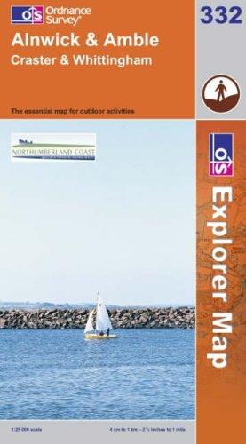 OS Explorer map 332 : Alnwick & Amble