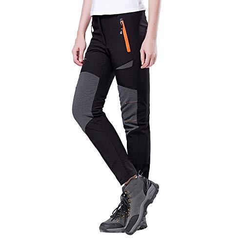 FRAUIT Paar waterdichte winddichte vrijetijdsbroek joggingbroek broek sportkleding stijl outdoor wandelen warme winterbroek