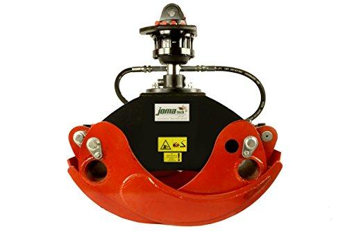 Joma-Tech Forstgreifer OG19 Öffnungsbreite bis 1260mm mit oder ohne Rotator Drehmotor und mit Einlegeschalen Lieferbar !! (OG19 m. Rotator FHR 4,5to. (Formiko))