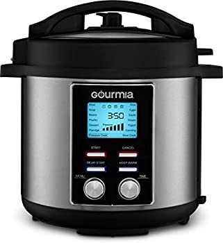 Gourmia GPC655 6 Qt Digital SmartPot Multi-Function Pressure Cooker