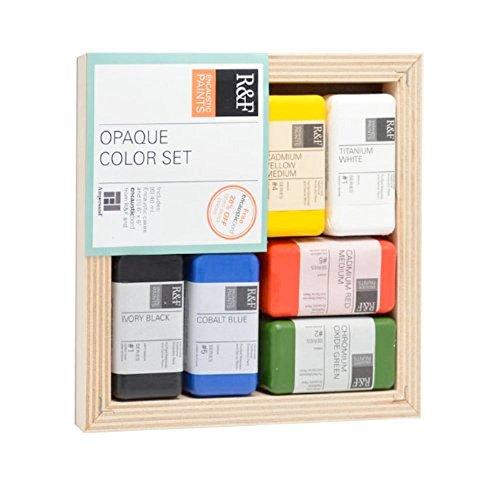 R&F Encaustic Opaque Color Set of 6