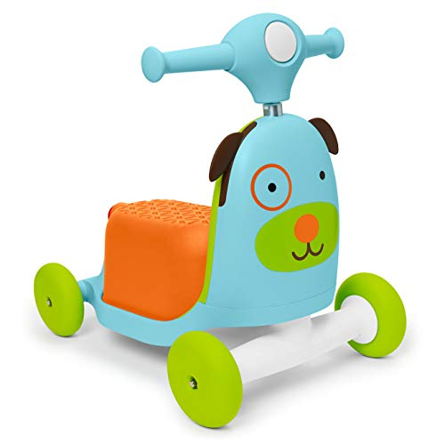Skip Hop Zoo 3-in-1 Ride-On Toy, Dog