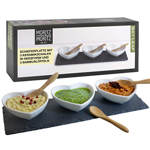 Moritz & Moritz 7 pz. Serving Set Bay Leaf - ciotole in...