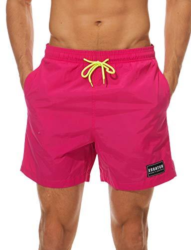ZAPZEAL Sommer Herren Hawaiian Shorts Lässige Strandhosen-Outfits Kleidung Button Hawaii