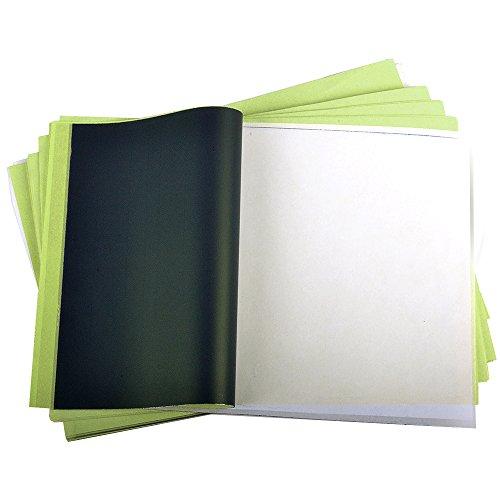 50 Blatt Profi Tattoo Matritzenpapier Papier Matrizenpapier Taetowierung Vorlagen 4 lagig