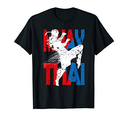 Muay Thai T-Shirt Kickboxen Kampfsport