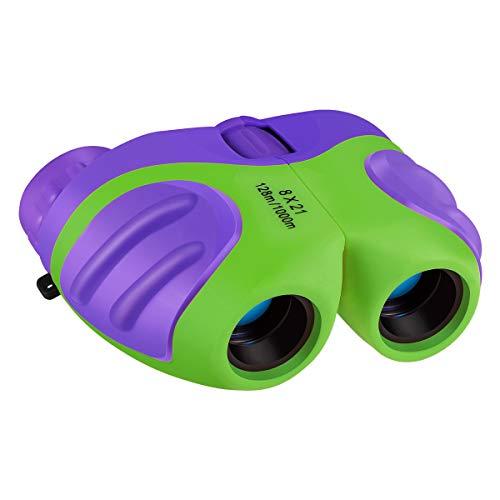 Kearui Spielzeug ab 3-8 Jahren Junge Mädchen, Fernglas für Kinder 8x21 Kinder Fernglas mit Wasserdicht Fernglas Kinder Spielzeug ,Geschenke für 3-12 Jährige Jungen oder Mädchen