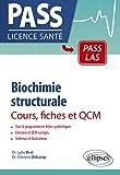 Biochimie structurale en cours, fiches et QCM