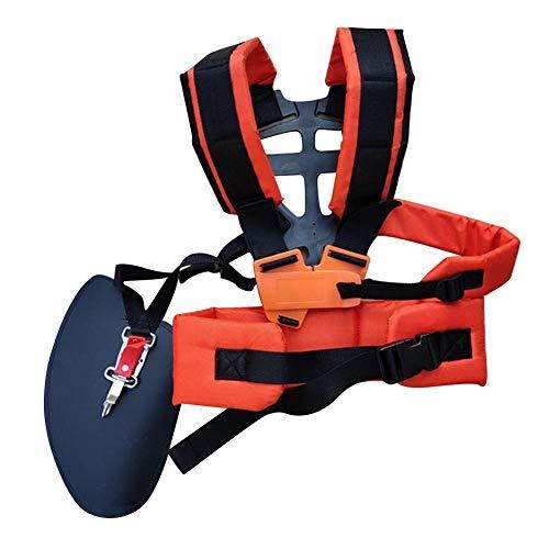 Obobb Alça de ombro ajustável, confortável, durável, cinto para alívio da dor no ombro para cortadores de grama e acessórios