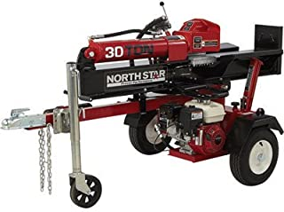 NorthStar Horizontal/Vertical Log Splitter - 30-Ton, 200cc Honda GX200 Engine