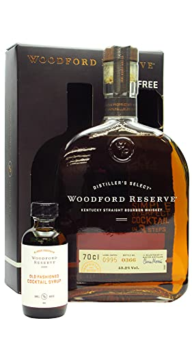 Woodford Reserve - Old Fashioned Cocktail Syrup Giftpack & Bourbon - Whiskey