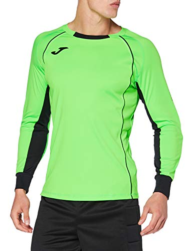 Joma Camisetas De Portero, Hombre, Verde flúor, XS