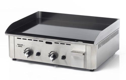 Roller Grill R.PSR600GE Plancha Pro Gaz Double 6400 W