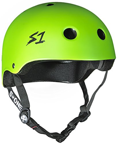 For Sale! S-ONE Lifer CPSC - Multiple Impact Helmet - Bright Green Matte Small (21)