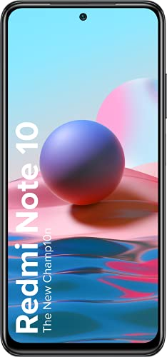 Redmi Note 10 (Shadow Black, 4GB RAM, 64GB Storage) -...