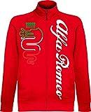 Generico Chaqueta Alfa Romeo World Rally Team Car STI Tuner Jacket rojo XXL