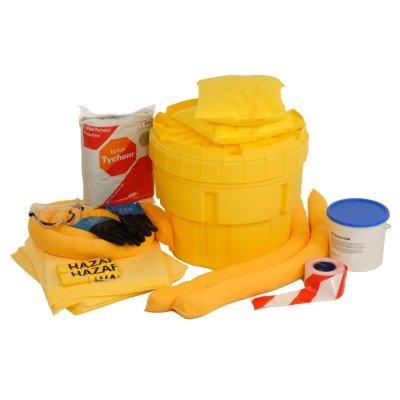 Trade Shop Direct Completo Batteria Acido Spill Kit