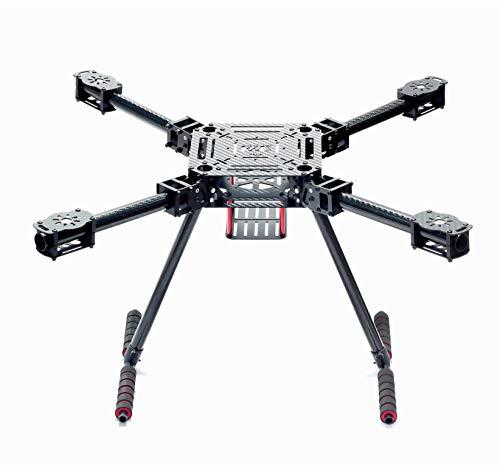 Readytosky ZD550 Quadcopter Frame 550mm Folding Carbon Fiber Drone Frame with Carbon Fiber Landing Skid
