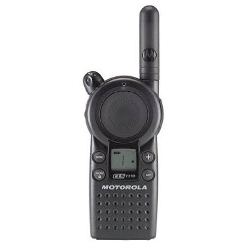 Motorola Business CLS1110 5-Mile 1-Channel UHF Two-Way Radio