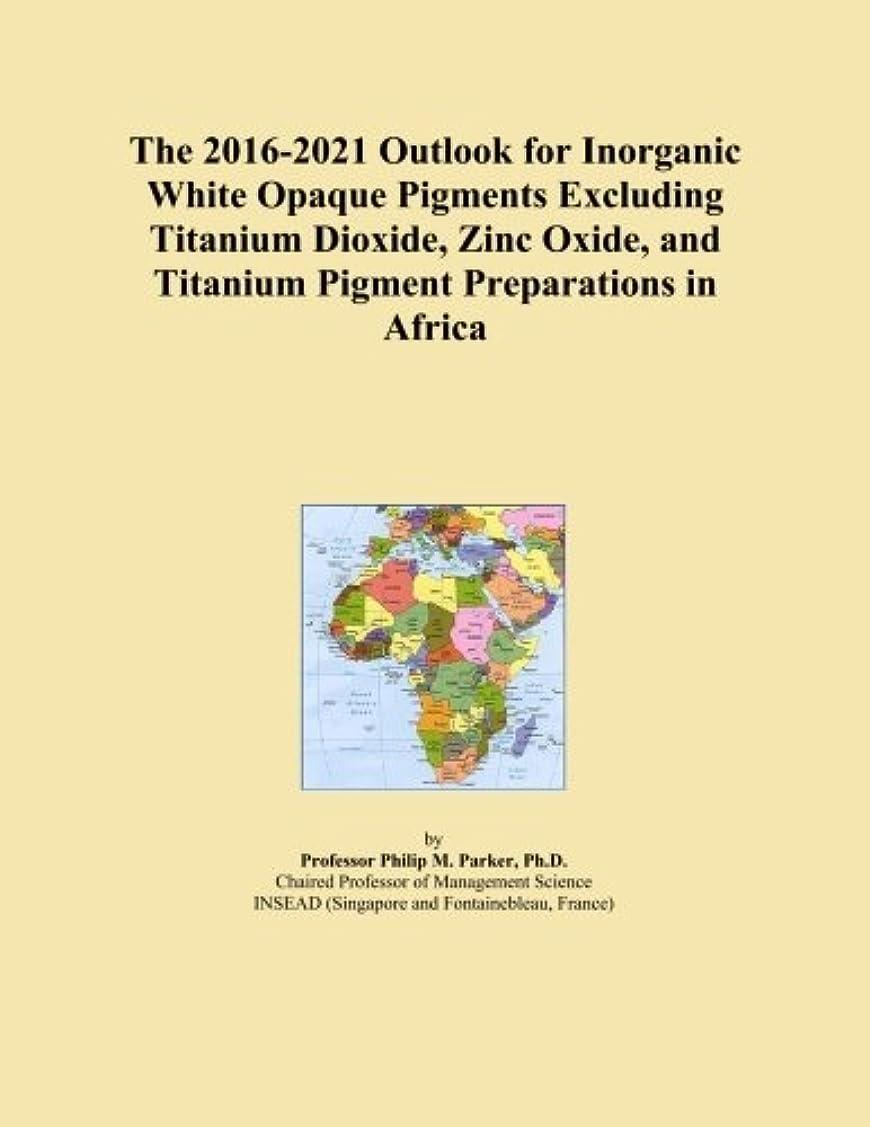 セラー祝福する火曜日The 2016-2021 Outlook for Inorganic White Opaque Pigments Excluding Titanium Dioxide, Zinc Oxide, and Titanium Pigment Preparations in Africa