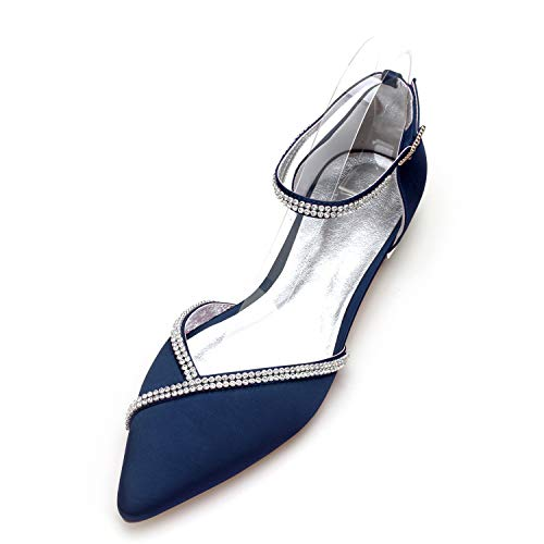 Top 10 best selling list for flat navy blue wedding shoes