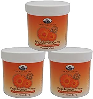 6 x 250ml Ringelblumen-Creme vom Pullach Hof, Hautpflege Ringelblumencreme