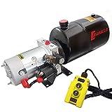 Hydraulikaggregat Casuroc 2.0, Hydraulikpumpe 12 V 180 bar 2000 Watt mit 6 Liter Stahtank