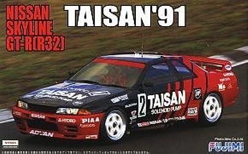 1 24 R32 Skyline GT-R Taisan `91 (Model Car) Fujimi Group A No.12