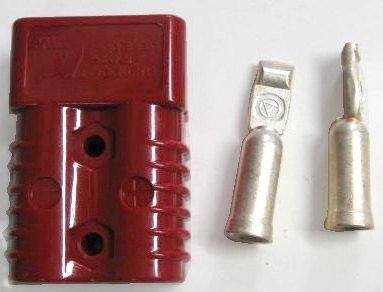 アンダーソン SB175A バッテリー・電源用クイックコネクター 赤