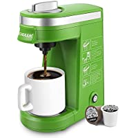 CHULUX Single Serve Coffee Maker with Removable Drip Tray
