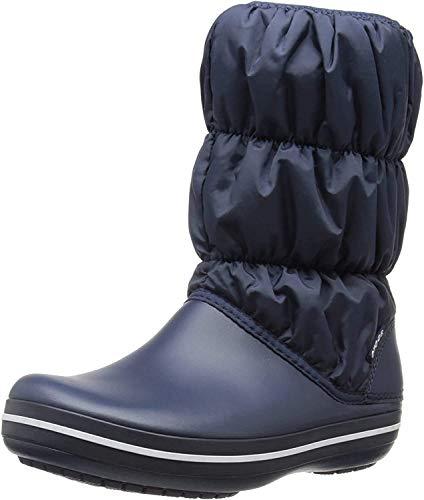 Crocs Winter Puff Boot, Botas de Nieve para Mujer, Azul (Navy/Navy 463), 37/38 EU