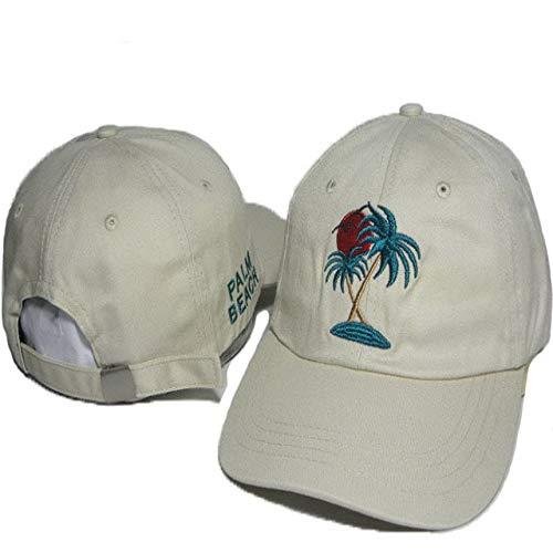 sdssup Weibliche Rose White Tide Brand Cap Cap 22 einstellbar