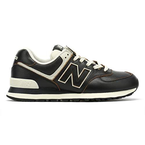 New Balance 574v2 Zapatillas Hombre, Negro (Black Black), 43 EU (9 UK)