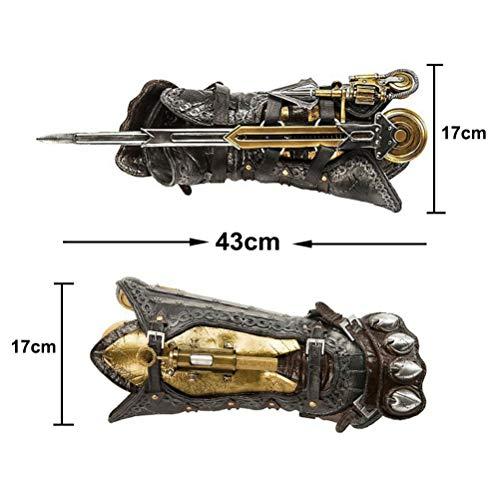 ☻NUMERO DI MERCI: 1 * 100% nuovo di zecca Assassin's Creed Arrow di sesta generazione. ☻FORMATO SCATOLA COLORE: circa 16,5 * 6,7 * 10,8 pollici ☻ADATTAMENTO: giocattoli di età superiore ai 14 anni. ☻MATERIAL: PVC di protezione ambientale di alta qual...
