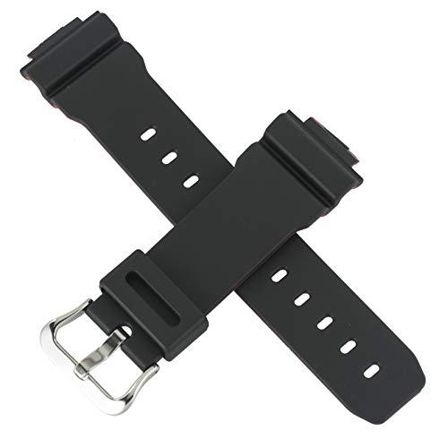 Cinturino per orologio Casio originale per DW-5600HR GW-5000HR GW-6900HR Nero Rosso