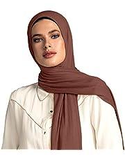 وشاح رأس من نسيج الجيرسي الفاخر الحجاب من فوال شيك