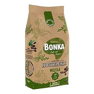 Bonka café tostado en grano para hostelería mezcla - 1 paquete x 1 kg