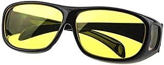 نظارة للرؤية الليلية بتصميم ملفوف من اجل رؤية واضحة، نظارة للرؤية اثناء القيادة، نظارة شمسية للجنسين