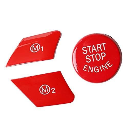 freneci Engine Start Stop Push Button Reemplazo de La Cubierta para F16 F82 F20 F21 F23